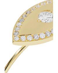 Jennifer Meyer - Metallic Large Evil Eye 18-karat Gold Diamond Ring - Lyst