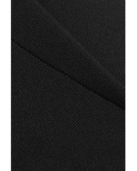 Roland Mouret | Black Brattle One-shoulder Stretch-knit Dress | Lyst