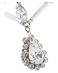 Erickson Beamon - Metallic Paper Cranes Silver-tone Crystal Necklace - Lyst
