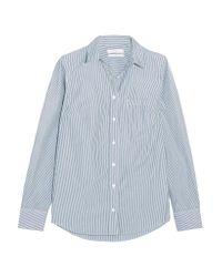 J.Crew - Blue Boy Striped Cotton-poplin Shirt - Lyst