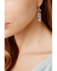 Brooke Gregson - Metallic Orbit 18-karat Gold, Opal And Diamond Earrings - Lyst