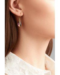 Pippa Small   Metallic 18-karat Gold Amethyst Earrings   Lyst