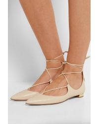 Aquazzura - Multicolor 'christy' Ballerinas - Lyst
