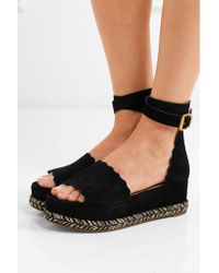 Chloé - Black Lauren Sandals - Lyst