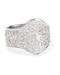 Carolina Bucci   18-karat White Gold Diamond Ring   Lyst