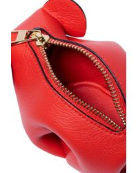 Loewe - Red Elephant Leather Wallet - Lyst