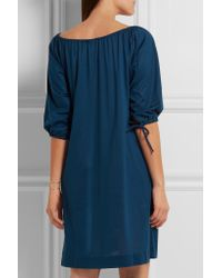 Eres - Blue Zéphyr Mimsy Cotton-jersey Dress - Lyst