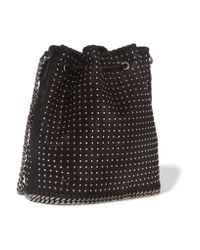 Stella McCartney - Black Falabella Large Tote - Lyst