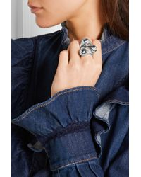 Jennifer Fisher - Metallic Orb Silver-plated Ring - Lyst