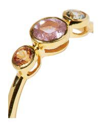 Scosha - Metallic Dusk Gold-plated Sapphire Ring - Lyst