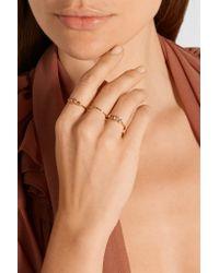 Scosha | Metallic Dusk Gold-plated Sapphire Ring | Lyst