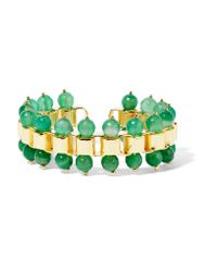 Rosantica | Green Allodola Gold-tone Quartz Cuff | Lyst