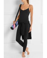 Live The Process - Black Stretch-supplex® Bodysuit - Lyst