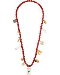 Carolina Bucci - Multicolor Recharmed Favola 18-karat Gold Multi-stone Necklace - Lyst