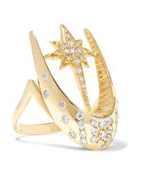 Venyx | Metallic 18-karat Gold Diamond Ring | Lyst