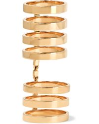 Repossi | Metallic Berbère 18-karat Gold Ring | Lyst