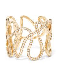 Repossi | Metallic White Noise 18-karat Gold Diamond Ring | Lyst
