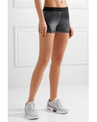 Nike - Multicolor Hypercool Dri-fit Mesh-paneled Printed Stretch Shorts - Lyst