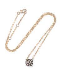 Pomellato | Metallic Nudo 18-karat Rose Gold Diamond Necklace | Lyst