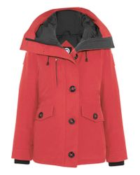 Canada Goose | Red Rideau Shell Down Parka | Lyst