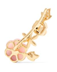 Yvonne Léon - Metallic 18-karat Gold, Diamond And Opal Earring - Lyst
