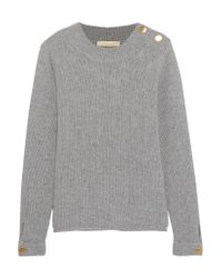 Vanessa Bruno | Gray Wool And Cashmere-blend Sweater | Lyst