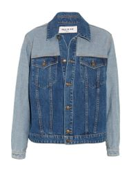 Paul & Joe - Blue Patchwork Denim Jacket - Lyst