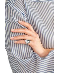 Jennifer Fisher - Metallic Smooth Silver-plated Pinky Ring - Lyst