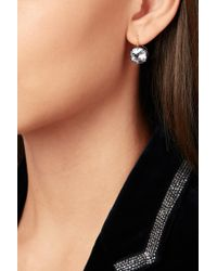 Fred Leighton - Metallic Collection Silver-plated, 18-karat Gold And Topaz Earrings - Lyst
