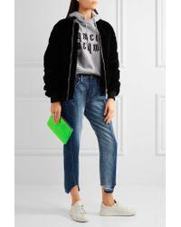 Comme des Garçons - Multicolor Neon Leather Pouch - Lyst