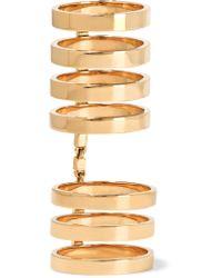 Repossi - Metallic Berbère 18-karat Gold Ring Gold 54 - Lyst