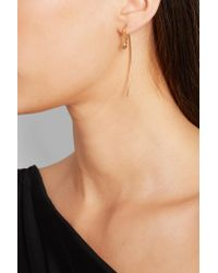 Charlotte Chesnais Metallic Hook Small Gold Vermeil Earring Gold One Size
