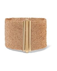 Carolina Bucci | Multicolor Woven 18-karat Gold Bracelet | Lyst