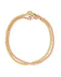 Carolina Bucci | Metallic Set Of Two 18-karat Gold Bracelets | Lyst