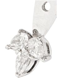 Yvonne Léon - Multicolor 18-karat White Gold Diamond Earring - Lyst