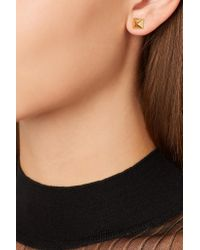 Anita Ko | Metallic Spike 14-karat Gold Earrings | Lyst