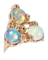 Wwake - Metallic 14-karat Gold Opal Earring - Lyst