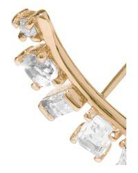Loren Stewart - Metallic 14-karat Gold Multi-stone Earring - Lyst