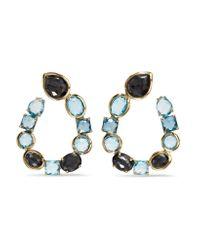 Ippolita - Metallic Rock Candy 18-karat Gold Multi-stone Earrings - Lyst