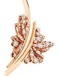 Stephen Webster - Metallic + Hearts On Fire 18-karat Rose Gold Diamond Necklace - Lyst