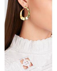 Ippolita | Metallic Senso Hammered 18-karat Gold Earrings | Lyst