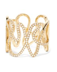 Repossi - Metallic White Noise 18-karat Gold Diamond Ring - Lyst