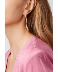 Melissa Kaye - Metallic Margo Wave 18-karat Gold Diamond Earrings Gold One Size - Lyst