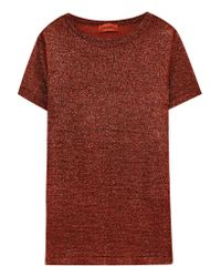 Missoni - Multicolor Metallic Stretch-knit T-shirt - Lyst