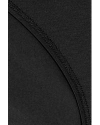 Hanro - Black Mini Mercerized Stretch-cotton Briefs - Lyst
