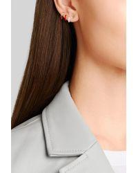 Alison Lou - Metallic Girl Power 14-karat Gold Earring - Lyst