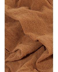 Wolford - Brown Twenties Fishnet Tights - Lyst