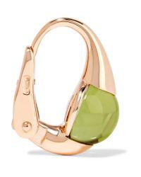 Pomellato | Metallic M'ama Non M'ama 18-karat Rose Gold Peridot Earrings | Lyst