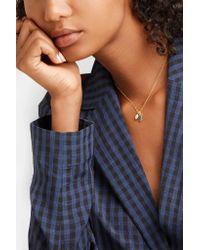 Pippa Small - Metallic 18-karat Gold Kyanite Necklace Gold One Size - Lyst