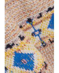 Victoria Beckham - Natural Wool And Alpaca-blend Sweater - Lyst